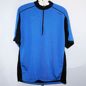 Nice Sugoi loose racing jersey with pockets EUC M